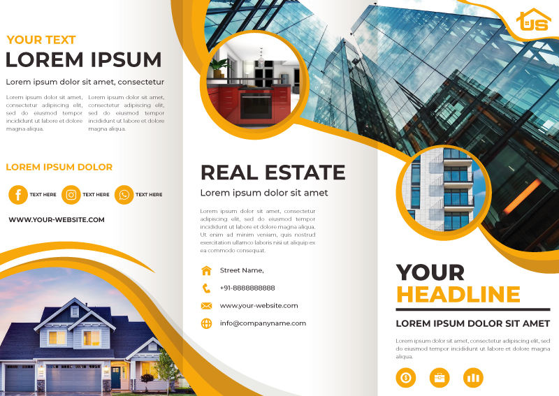 Three Fold Brochure Design Sample