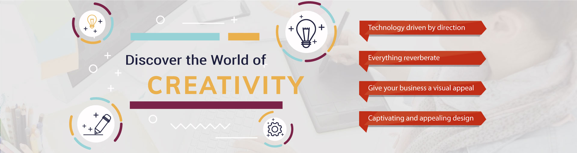 Discover the world of creativity